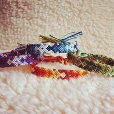 Friendship Bracelet - MADE TO ORDER: Braided Handmade Embroidery Floss Fiber Friendship Bracelet - Thin Graduated Arrowhead on Etsy