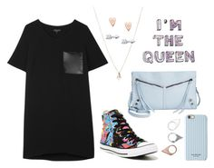 """""""Really?"""" by prinutbutterjelly ❤ liked on Polyvore featuring rag & bone, Converse, ASOS, FOSSIL, Carlos by Carlos Santana, Monki and Isaac Mizrahi"""