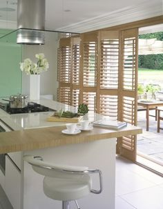 Practical for the kitchen sliding door