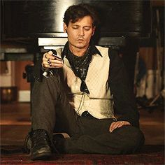 because everybody should have a gif set of Johnny Depp listening to music.