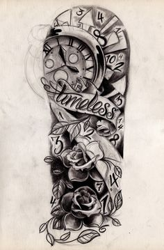 Tattooed leg. #tattoos #colourful #ink
