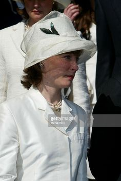Dutch Princess Margarita arrives at the funeral of the Queen Mother Princess Juliana at Nieuwe Kerk on March 2004 in Delft, Netherlands. Princess Juliana died at age 94 as a result of pneumonia on March 2004 at her home in Soestdijk, Netherlands. Dutch Princess, Thai Princess, Dutch Queen, Prince Philip, Prince Albert, Prince Charles, Queen Margrethe Ii, Queen Maxima, Queen Noor