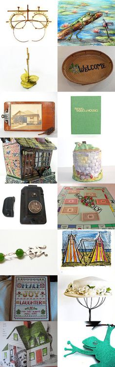 Searching For A New Pad by Linda Sapp Long on Etsy--Pinned with TreasuryPin.com