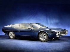 Lamborghini Espada ... perhaps the best looking full 4-seater ever???