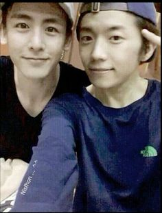 2PM Nichkhun and Wooyoung