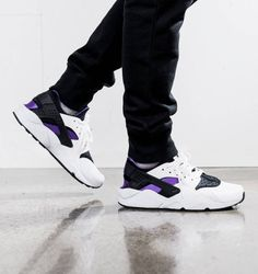 Nike (Via Air Huarache Run Premium (Via Nike Kicks Put Yo ae7648