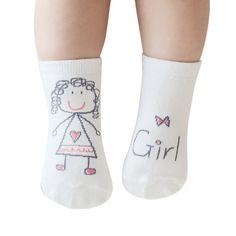 1$  Buy here - Infant Baby Toddler Kid Boy Girl Printed Cartoon Soft Non-slip Boot Cuffs Cotton Socks 0-3Y   #buyininternet