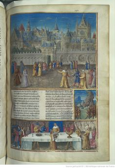 « Romuleon » [de ROBERT DELLA PORTA], traduction de « SEBASTIEN MAMEROT, de Soyssons »  Date of publication : 1401-1500