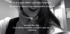 Depression quotes. Me.