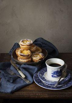 Portuguese dessert 'pastel de nata'.