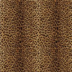 The Wallpaper Company 56 sq. ft. Black and Brown Leopard Print Wallpaper-WC1282267 at The Home Depot