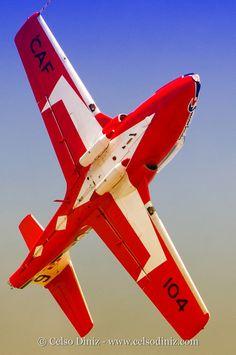 Canadian RCAF Snowbirds Jet Team
