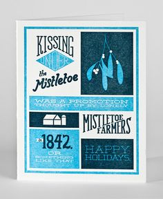 mistletoe | colle+mcvoyhas