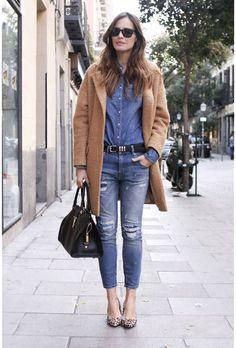 Trendy Mood | Inspirations… comment porter ses chemises  | http://www.trendymood.com