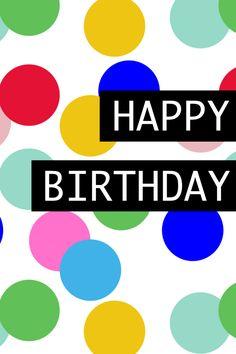 Happy Birthday Card | Free Printable