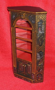 CJ's Corner Country Cabinet with Tiny Tales Staffordshire & Corn ...