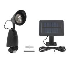 O177 - SOLAR SECURITY LIGHT Solar Security Light, Light Fixture, Solar Powered Security Light