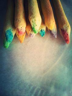Essbare Buntstifte - Süße kleine Leckereien - Jenny´s Blog!