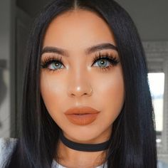 "634 Likes, 25 Comments - Marylia Scott (@maryliascott) on Instagram: ""I fell in love with this look ❤️the lashes tho . . . . EYES #anastasiabeverlyhills dipbrow in…"""