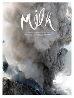 Cool Graphic Design on the Internet, Milk. #graphicdesign #poster @ http://www.pinterest.com/alfredchong/graphic-design/