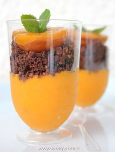 Mediterranean Cooking in Alaska: Apricot Mousse with Chocolate Crumble | The Chic Chocolate Curator | Scoop.it