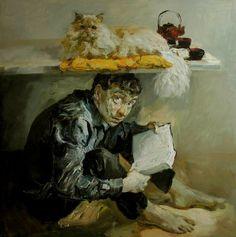 образ кошки в искусстве - Константин Лупанов