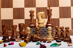 Redefine beauty & class in your living room with these wooden chess sets >> http://www.chessbazaar.com/