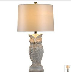 The Owl trend in a great lamp. Just $47 at JCPenney.