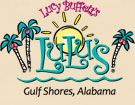 Lucy Buffett's LuLu's - A Fun and Family Friendly Restaurant in Gulf Shores, Alabama. Her website is so much FUN. Take the best guided tour inside Lulu's. You'll be sold!! She has a countdown clock to sunset! The food...wow. They have several allergy free menus for those with various food allergies in addition to regular menus. Don't be alarmed at the boat horns that sound off. This website is almost as fun as being there www.lulubuffett.com