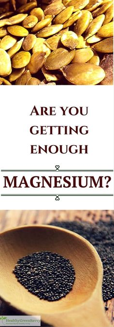 Are you getting enough magnesium? Magnesium is involved in hundreds of bodily…