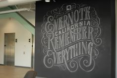 Evernote  Installation at Evernote's headquarters in Mountain View, California