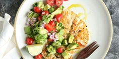 Seared Chicken with Avocado Salsa Recipe
