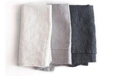 Linen napkins, hand towels, etc.