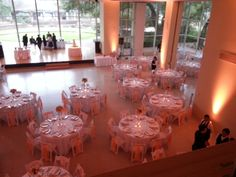 All Pink uplights by Dallas Light and Sound create a Romantic Mood!