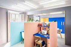 Masquespacio 사무실 인테리어 및 브랜딩»소매 디자인 블로그