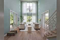 Home-Styling   Ana Antunes: Magnificent Houses - Aqua Blue Beauty