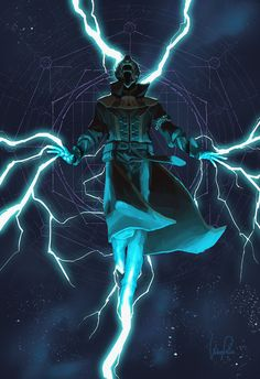 Thunderstruck Stormcaller Warlock - Destiny My Store. Destiny Warlock, Destiny Bungie, Destiny Comic, My Destiny, Character Concept, Character Art, Concept Art, Dark Fantasy, Fantasy Art