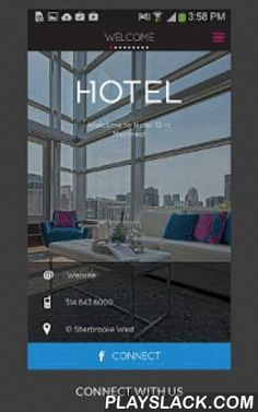 """Hotel 10  Android App - playslack.com , Hotel 10 in Montreal provides a unique boutique experience unlike any you'll find among the numerous hip boutique hotels in Montreal. Blending modern design with a nod to history in chic Montreal style, our intimate136 guestrooms combine sleek minimalism with luxurious comfort. On the corner of Sherbrooke and St. Laurent, 10 is steps away from the vibrant entertainment district and minutes from both Old Montreal and the """"Plateau"""" Mont-Royal. The…"""