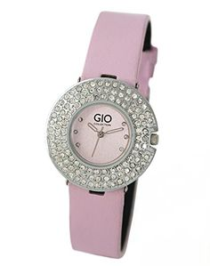Gio Collection Analog Pink Dial Women's Watch – GLC-4001B