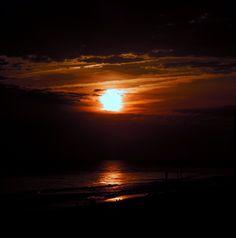 Winter sunset, Ocean Isle Beach NC