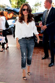 Salma Hayek in Cannes
