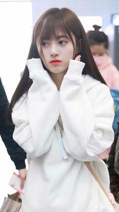 Ulzzang Korean Girl, Cute Korean Girl, Cute Asian Girls, Cute Girls, Cool Girl, My Girl, Beautiful Chinese Girl, Korean Street Fashion, Chinese Actress