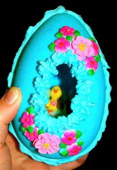 Panorama sugar Easter eggs...