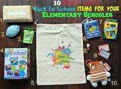10 Must-Have BACK TO SCHOOL Items for Your Elementary Schooler