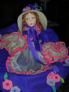 Lenci boudoir doll...how I hated to give mine up. They are so fabulous!