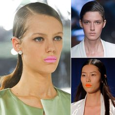 Wet Hair Trend Spring 2014 | New York Fashion Week * Great! I've been ahead of the trend all summer long!! :)