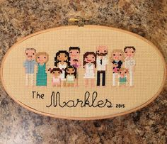 Add Extra Figure Custom Family Portrait by NoBasicStitches