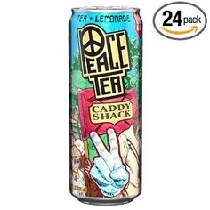 Peace Tea, Caddy Shack (Tea and Lemonade), 23-Ounce Cans   LOVE - found at your local gas station!