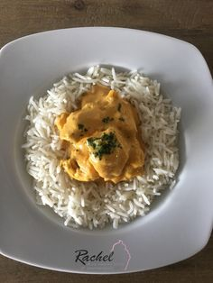 Poulet coco curry léger