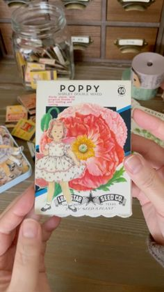"""takako on Instagram: """"Flip through of the seed packet journal I posted the pics the other day. Stay tuned as I will make a GIVEAWAY announcement in a few days.…"""" Pink Sheep, Seed Packets, Stay Tuned, Flipping, Announcement, Poppies, Journals, Giveaway, Seeds"""